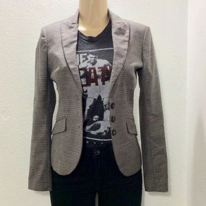 United Colors of Benneton houndstooth blazer